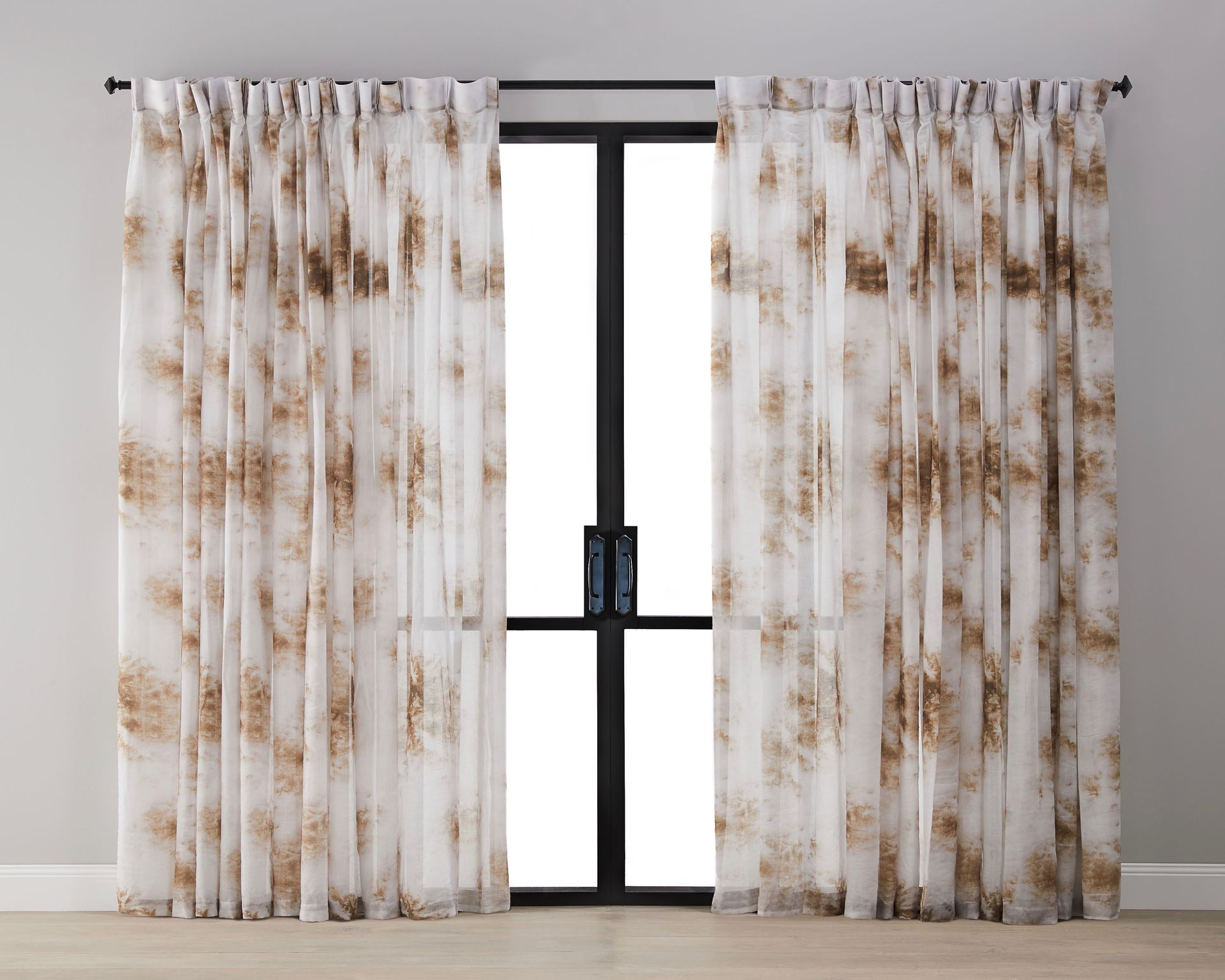 Picture of Cumulus Sheer Curtain - Cinnamon