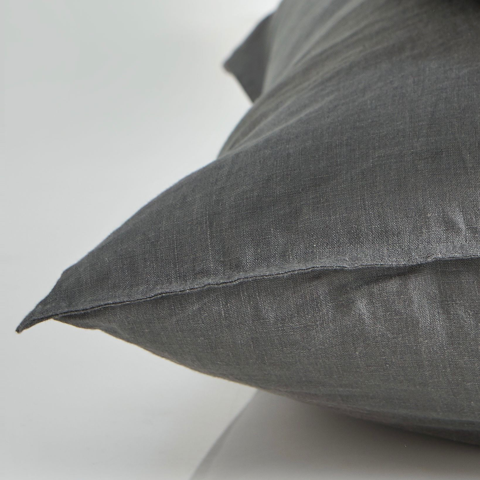 Picture of Pure linen European Pillow Case - Smoke