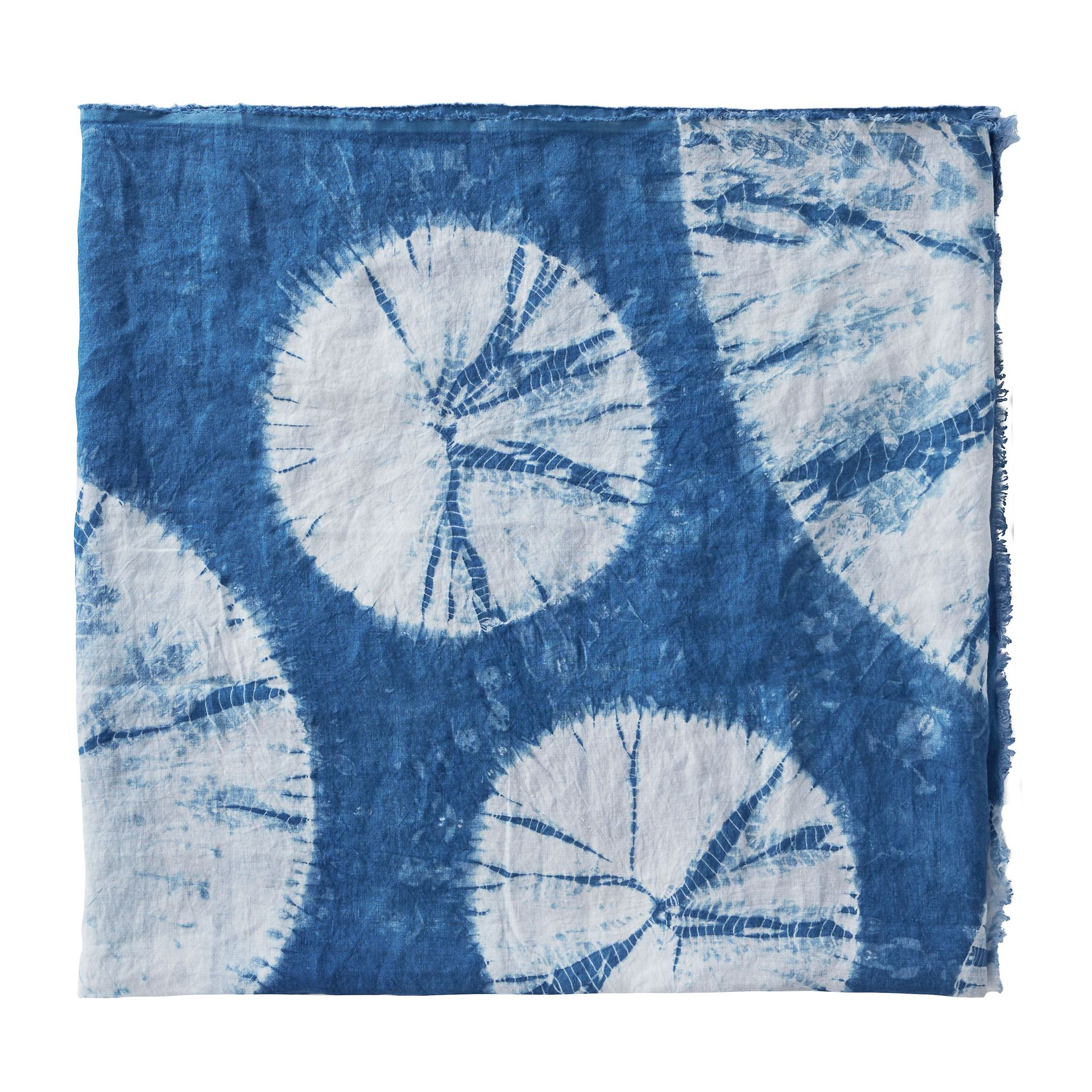 Picture of Pure Linen Shibori Throw
