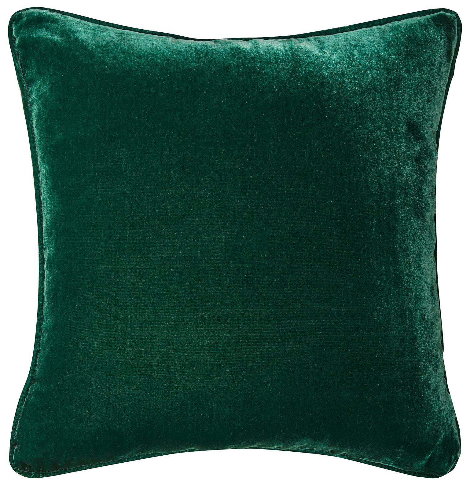 Picture of Silk Velvet Cushion - Emerald