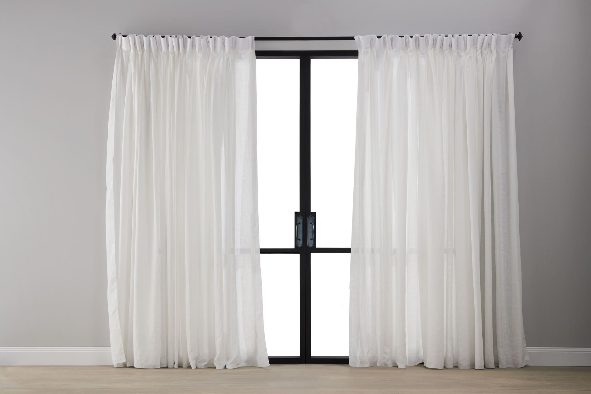 Picture of Classic White Sheer Curtain