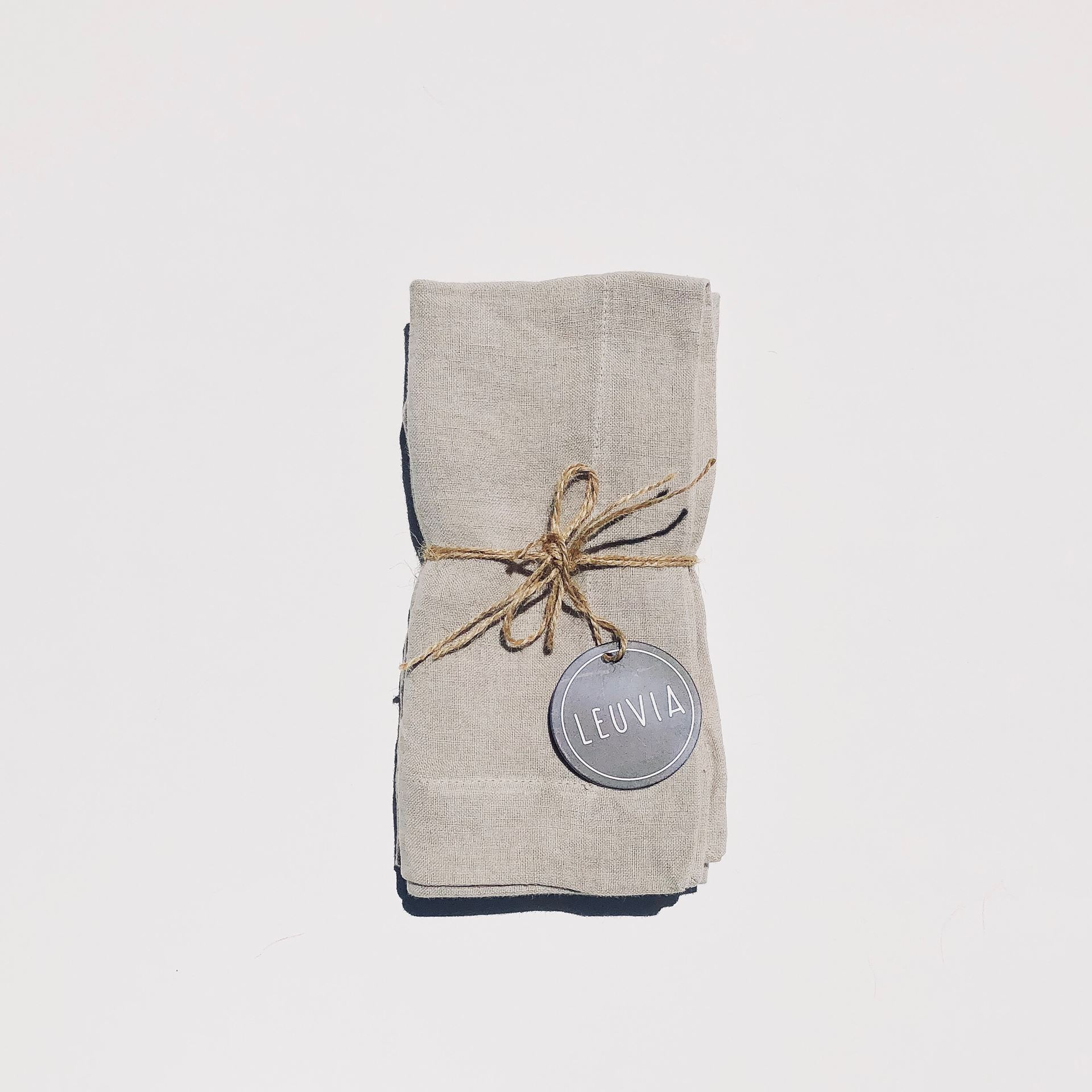 Picture of Piper Linen Napkin Pack (Set of 2) - Stone